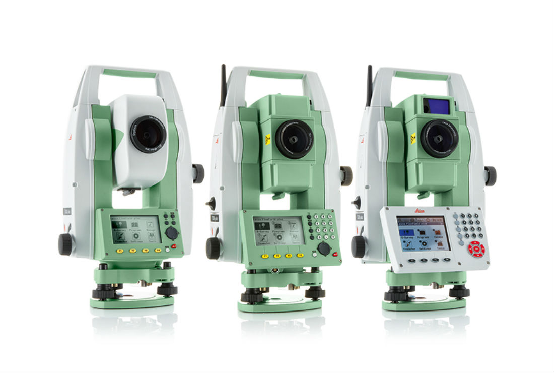 Leica Flexline Plus Series Total Station